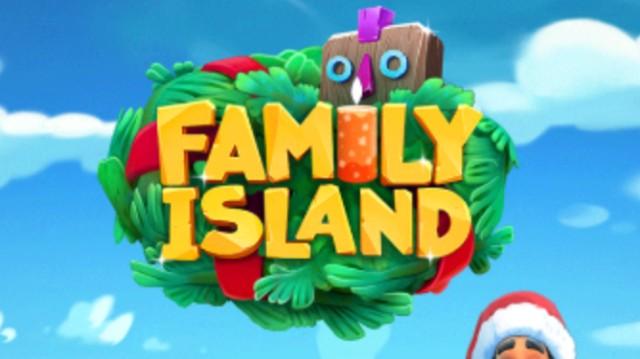 FAMILY ISLANDの起動画面