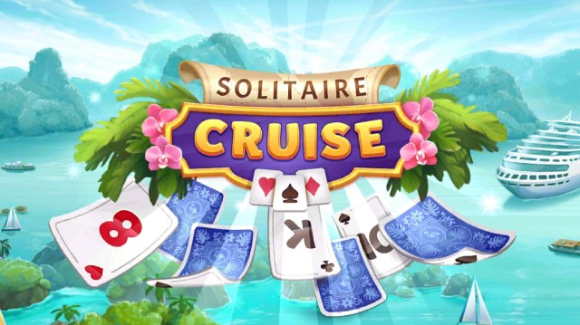 Solitaire Cruiseのアプリ起動画面