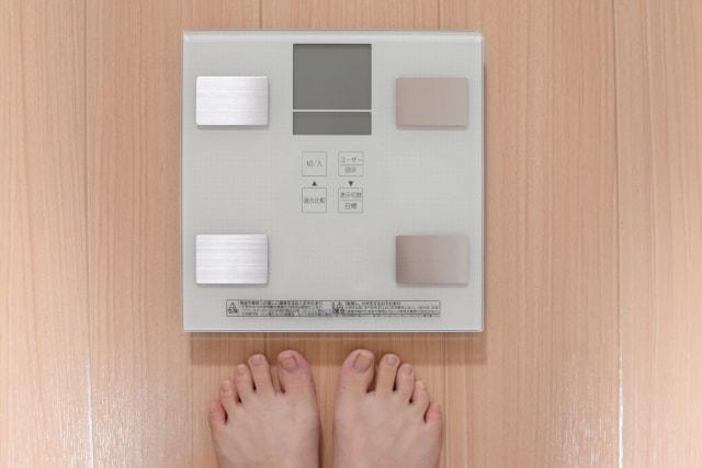 体重の減少や増加に一喜一憂しても意味はない!