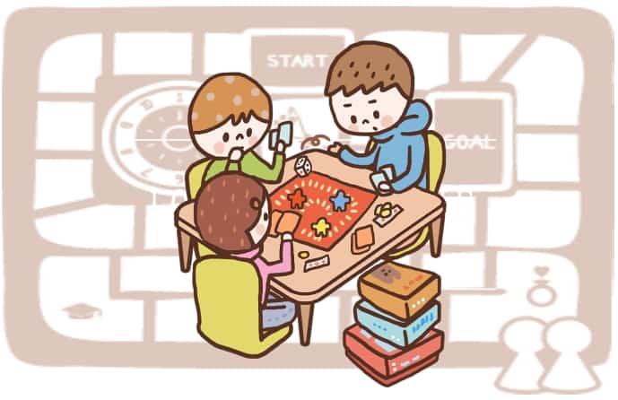 親子で室内遊び!おすすめのボードゲームまとめのアイキャッチ画像