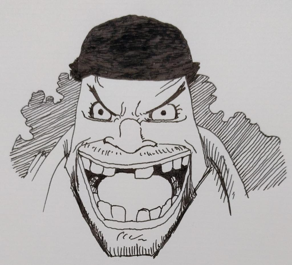 ティーチ(黒ひげ)|ONEPIECE|MATSU