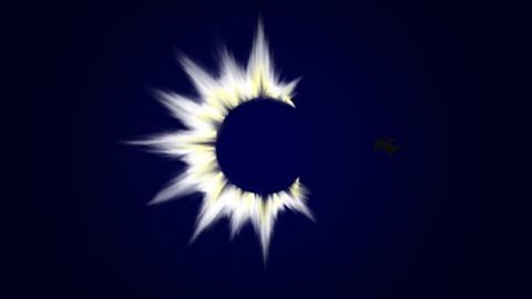 夜と月とぷちゴン