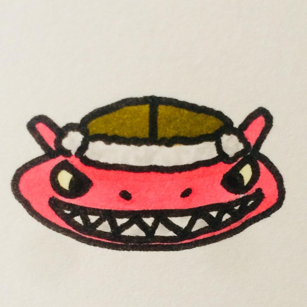 アーロン(ワンピース)に憧れるぷちゴン|ぷちゴン