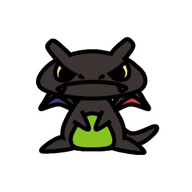 ジガルデ(ポケモン)の色のぷちゴン|ぷちゴン