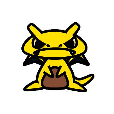 サンダー(ポケモン)の色のぷちゴン|ぷちゴン