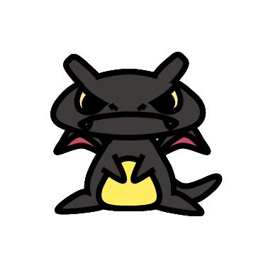 色違いレックウザ(ポケモン)の色のぷちゴン|ぷちゴン