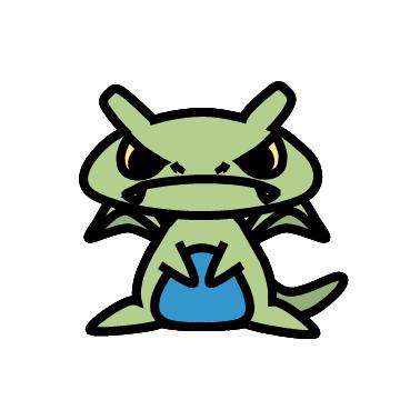 バンギラス(ポケモン)の色のぷちゴン|ぷちゴン