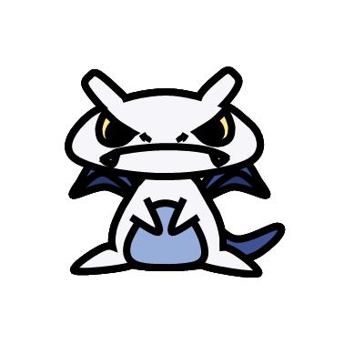 ルギア(ポケモン)の色のぷちゴン|ぷちゴン