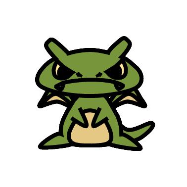 ドラゴン(ドラクエ)の色のぷちゴン|ぷちゴン