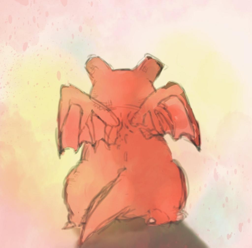 @ronnta4 さんに描いてもらったぷちゴン|ぷちゴン
