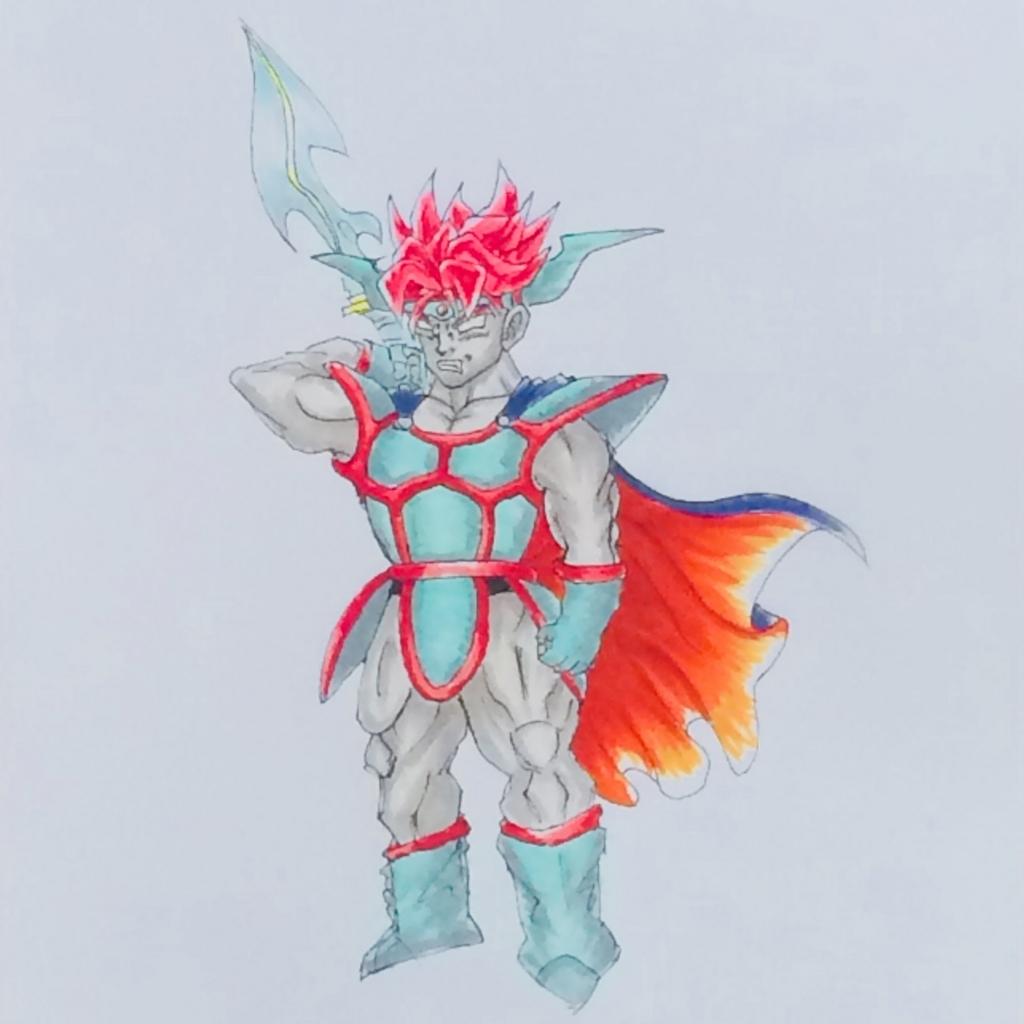 ダークドレアム(スーパーサイヤ人風) ドラクエ ドラゴンボール MATSU