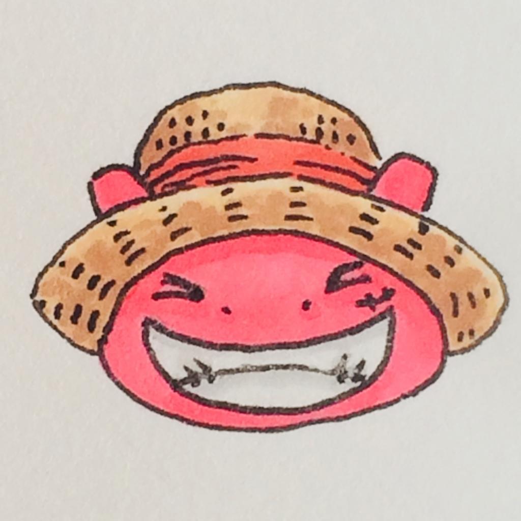 ルフィ(ワンピース)に憧れるぷちゴン|ぷちゴン