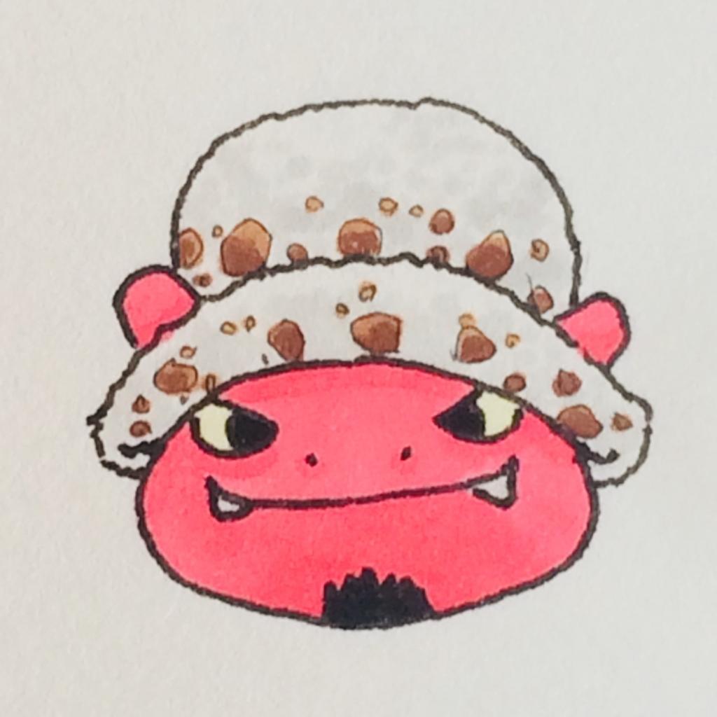 ロー(ワンピース)に憧れるぷちゴン|ぷちゴン