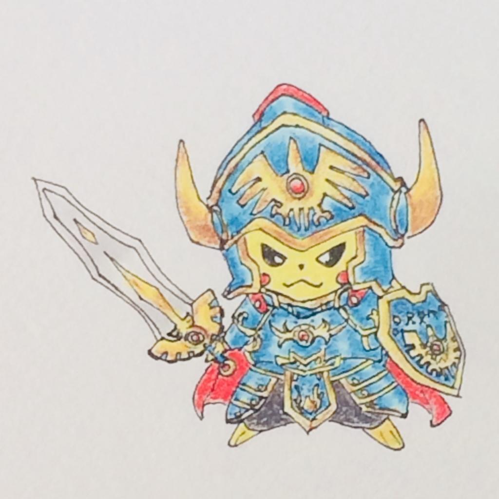 ピカチュウ✖ロト装備 ポケモン ドラクエ MATSU