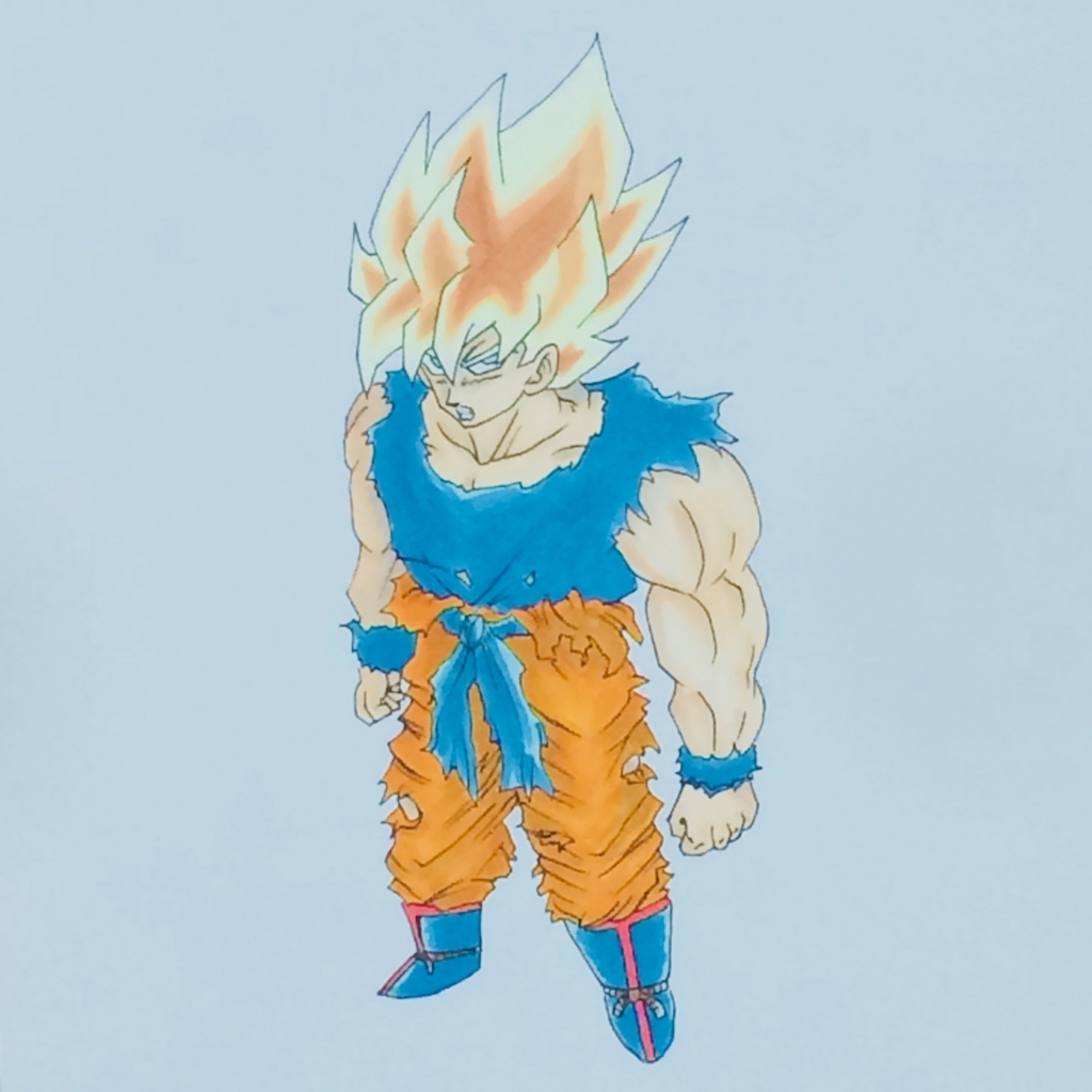 孫悟空(スーパーサイヤ人)|ドラゴンボール|MATSU