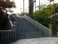 [袋井市]法多山本堂への階段
