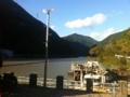 [浜松市]秋葉ダム ダム湖の様子