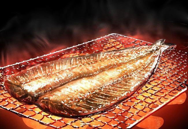 焼き魚の火の通り方
