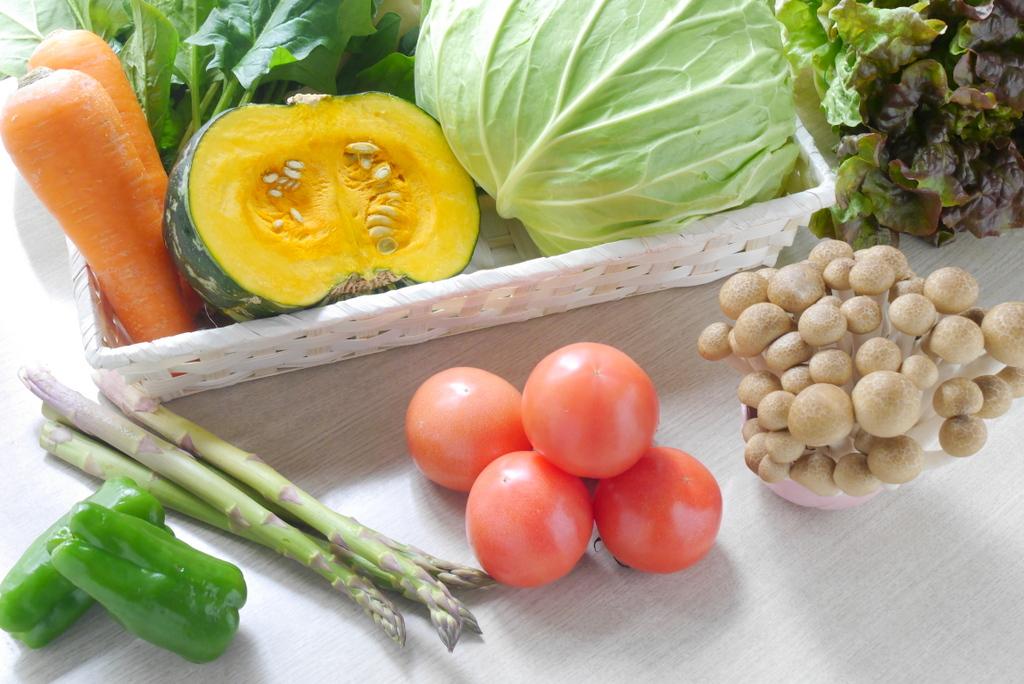 緑黄色野菜の抗酸化作用