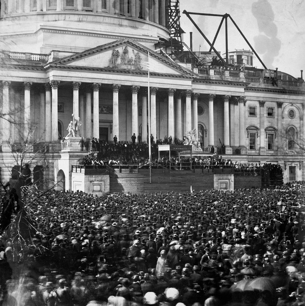 リンカーンが初めて大統領に就任したときの演説