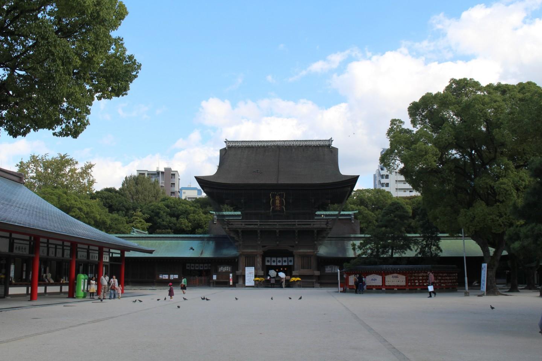 筥崎宮の写真1