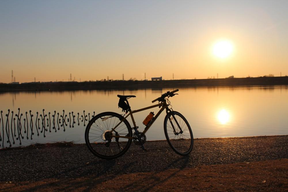 彩湖にてFUJI Paletteの写真
