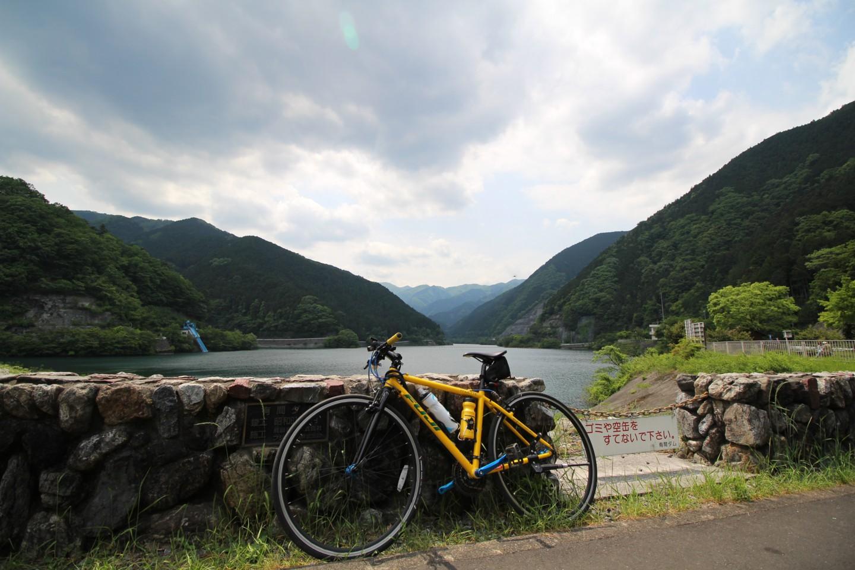 名栗湖にてフジ パレットの写真