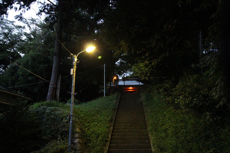 日野市百草 八幡神社(百草八幡)の写真1