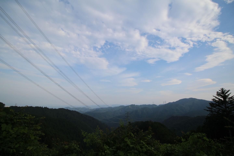 梅ノ木峠からの景色1