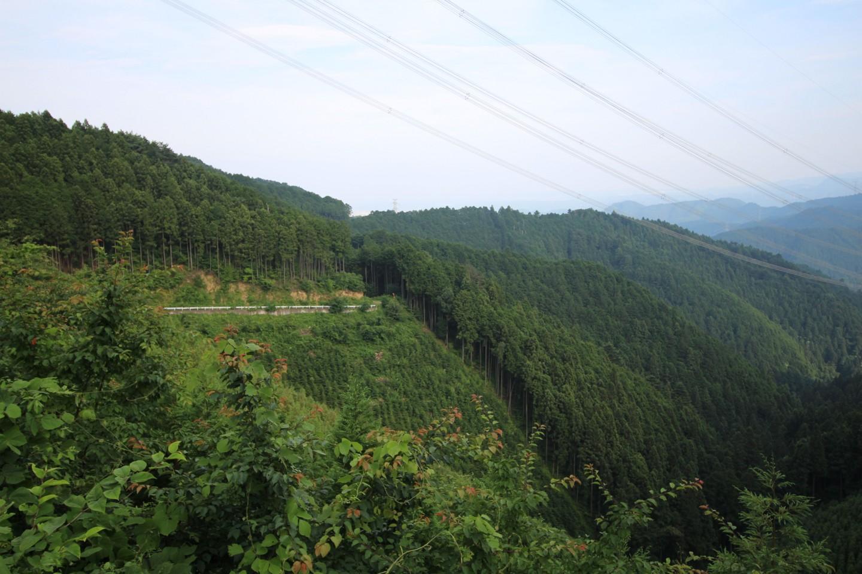 梅ノ木峠からの景色2