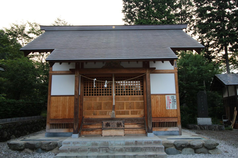 西多摩郡日の出町大久野 伊奈澤天神社の写真1