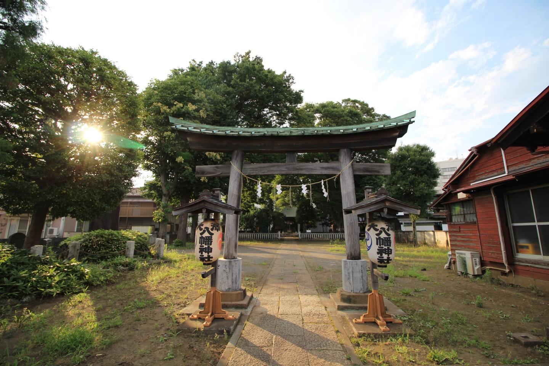 三鷹市大沢 大澤八幡神社の写真1