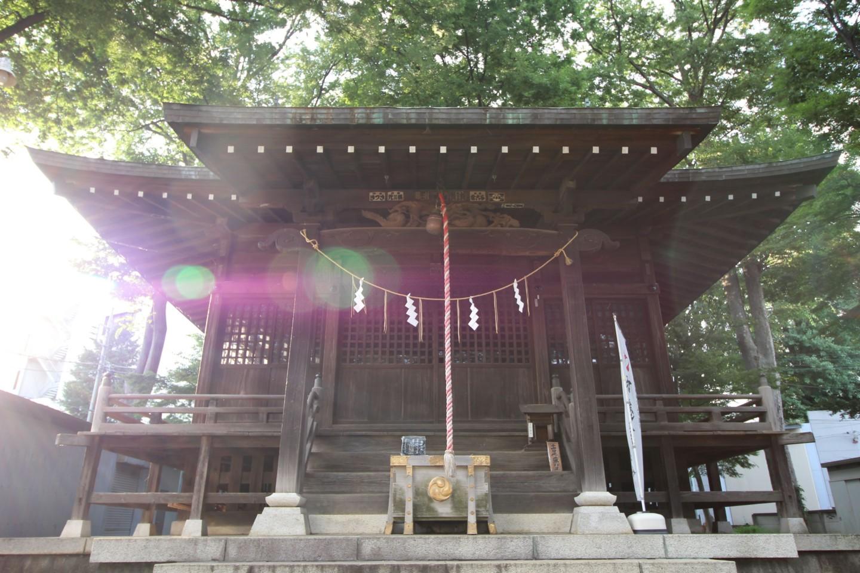 三鷹市大沢 大澤八幡神社の写真3