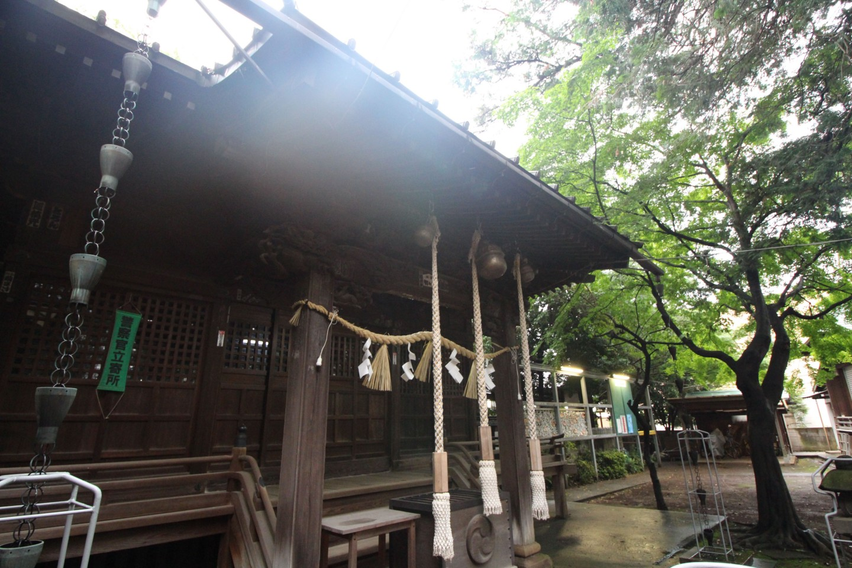 杉並区宮前 春日神社の写真3