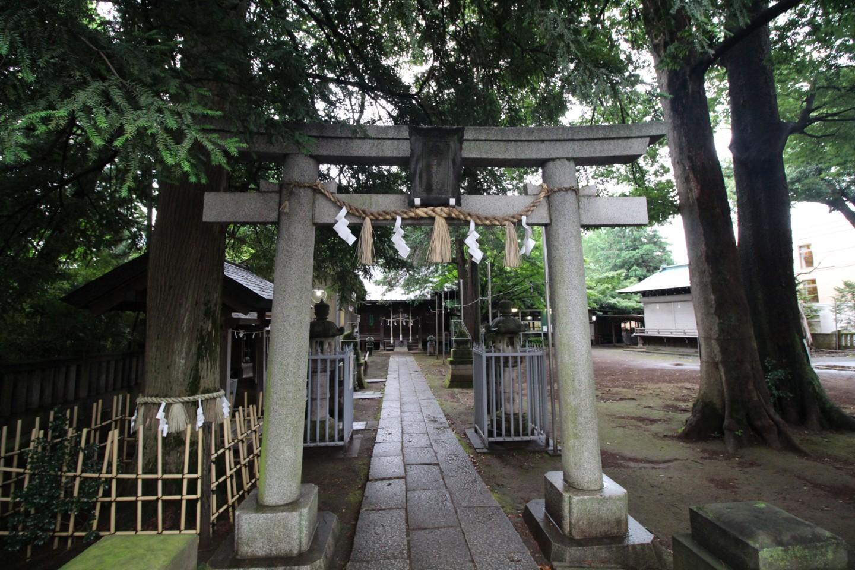 杉並区宮前 春日神社の写真1