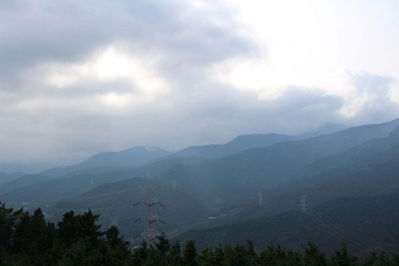 秦野市 菜の花台展望台からの景色の写真1