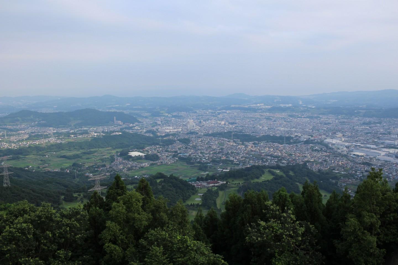 秦野市 菜の花台展望台からの景色の写真2