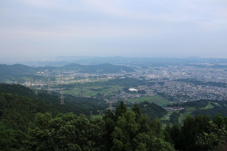 秦野市 菜の花台展望台からの景色の写真3