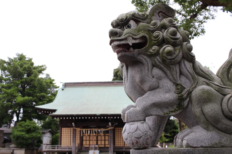 平塚市南原 諏訪神社の写真2