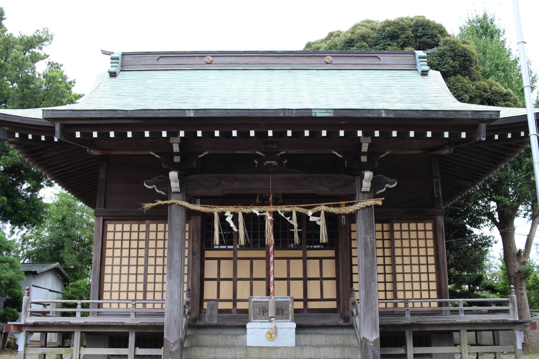 平塚市南原 諏訪神社の写真3