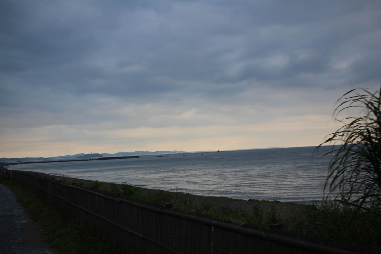 茅ヶ崎の海の写真1
