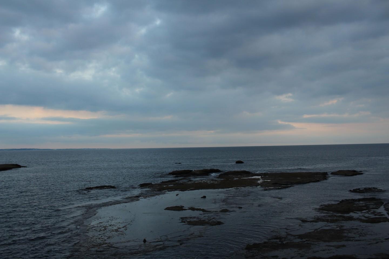 江ノ島 湘南大堤防の景色の写真3