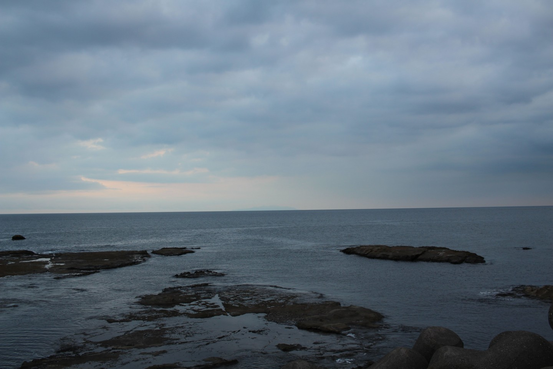 江ノ島 湘南大堤防の景色の写真4