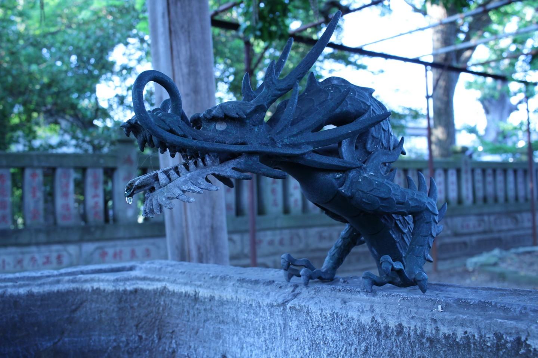 千葉市中央区蘇我 蘇我比め神社の写真2