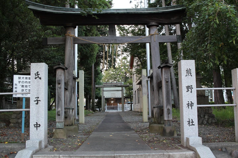 あきる野市小川 熊野神社の写真1