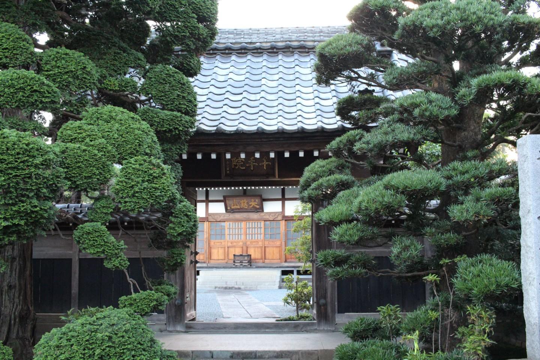 福生市熊川 千手院の写真1