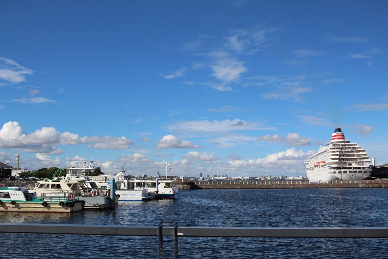 横浜市中区 大桟橋の写真1