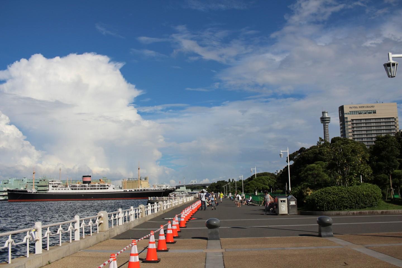 横浜市中区 山下公園の写真2