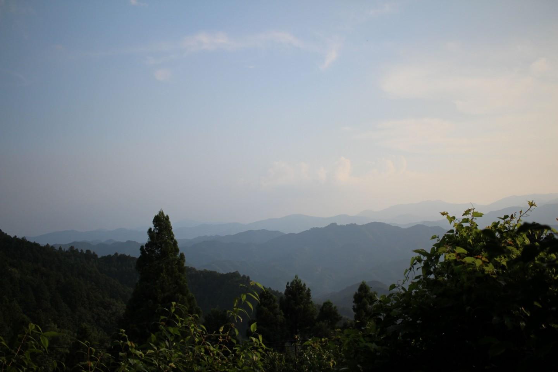 飯能市・ときがわ町 奥武蔵グリーンラインの景色の写真3