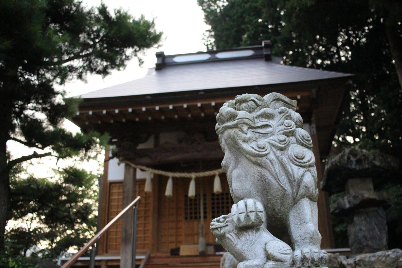 飯能市長沢 借宿神社の写真2